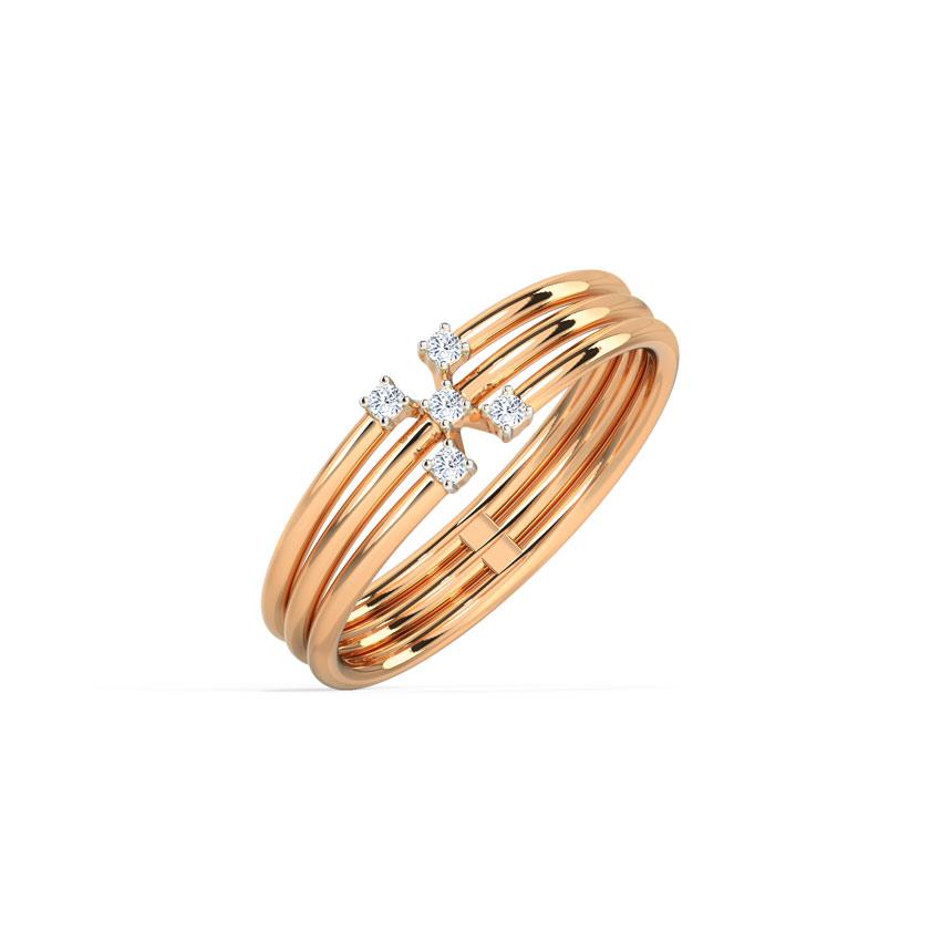 Triune Sparkle Ring