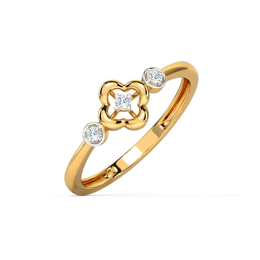 Triad Clover Ring