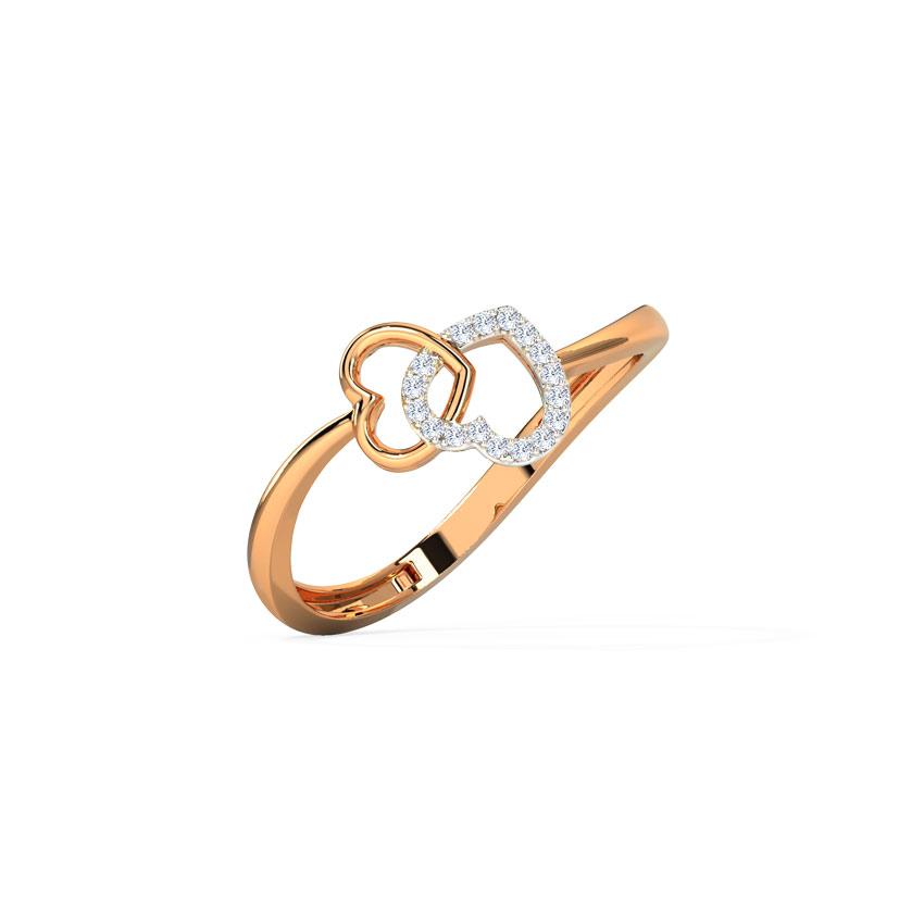 Tangled Heart Ring