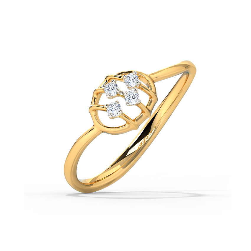 Glinting Ovate Ring