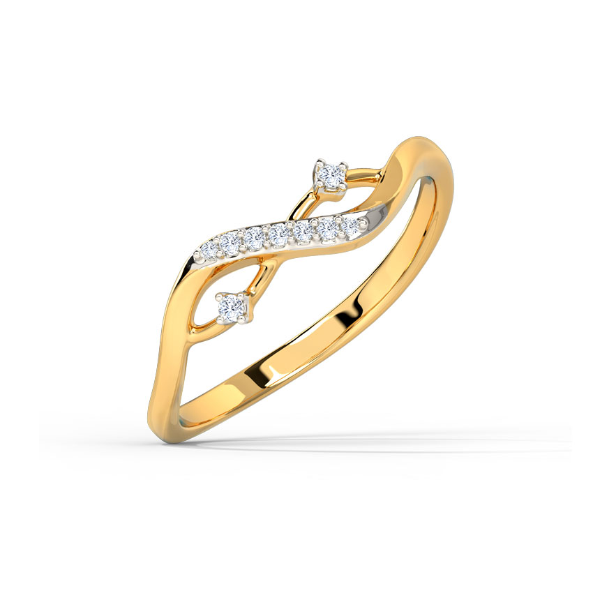 Sparkle Intertwined Ring