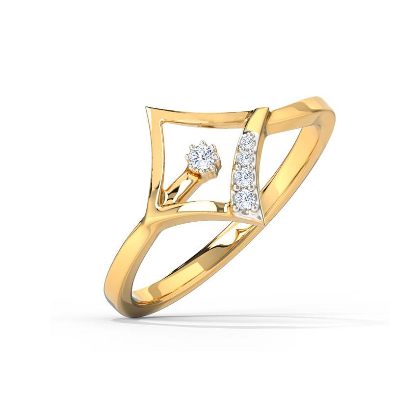 Glinting Quad Ring