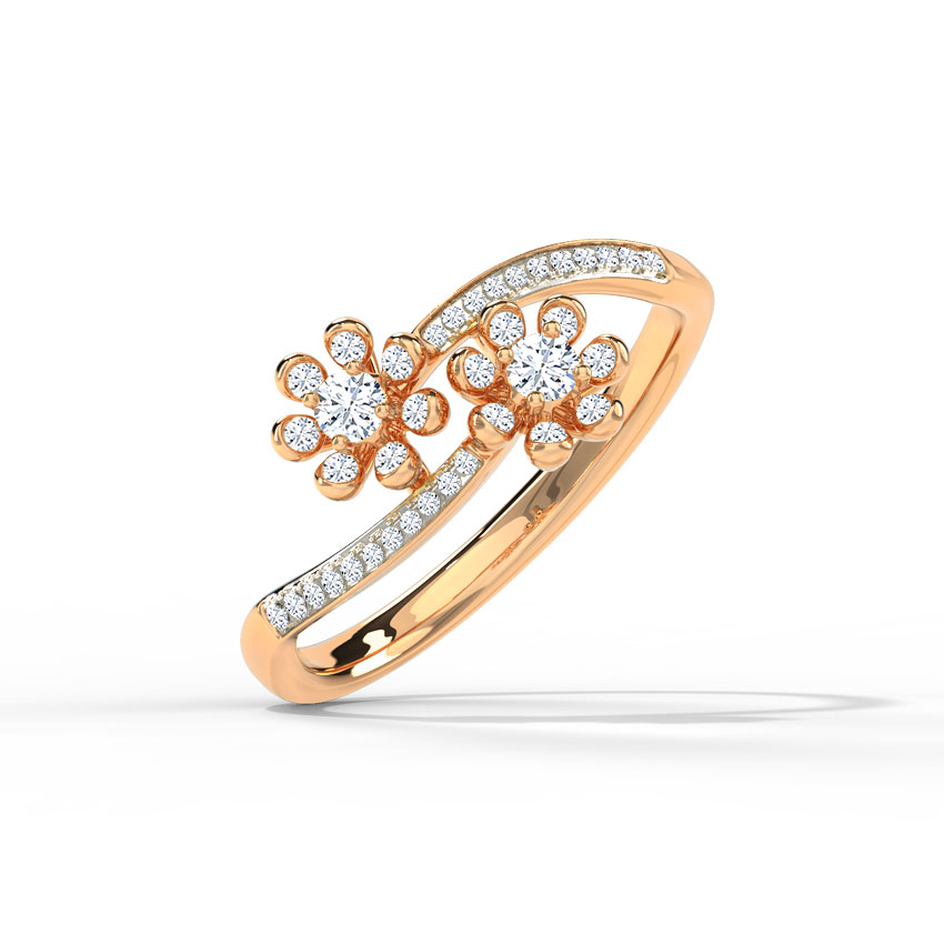 Twined Dahlia Ring