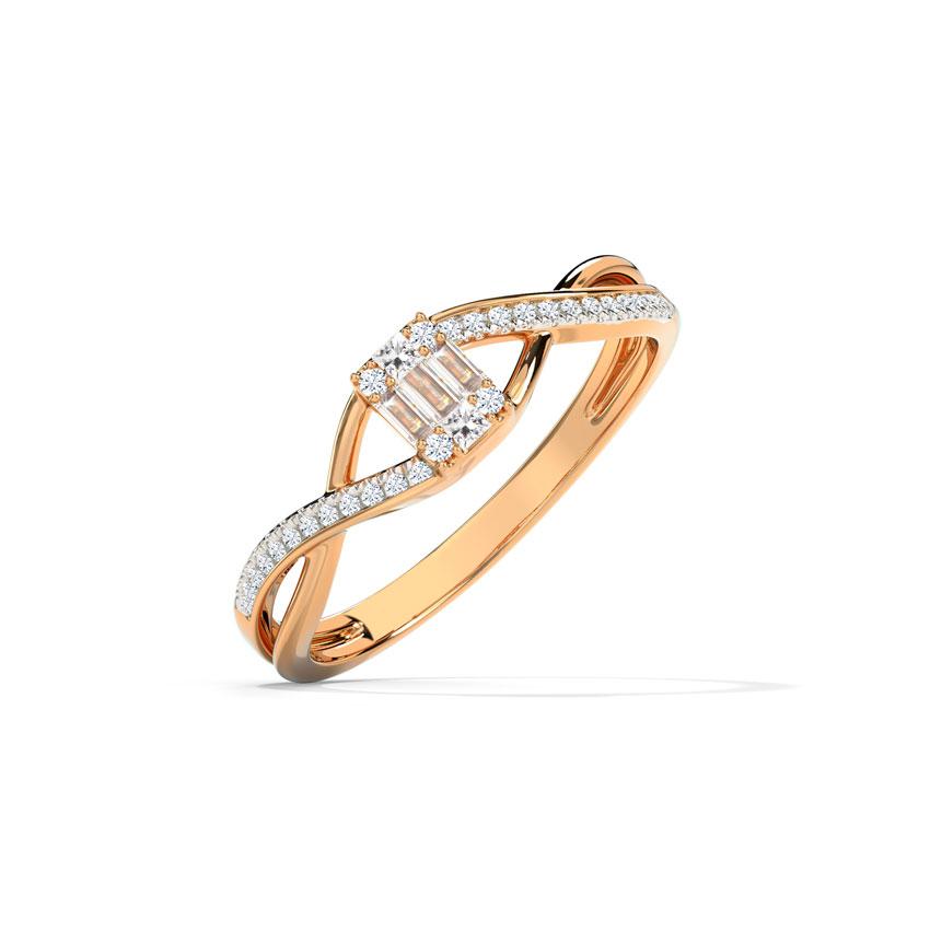 Encased Sparkle Ring