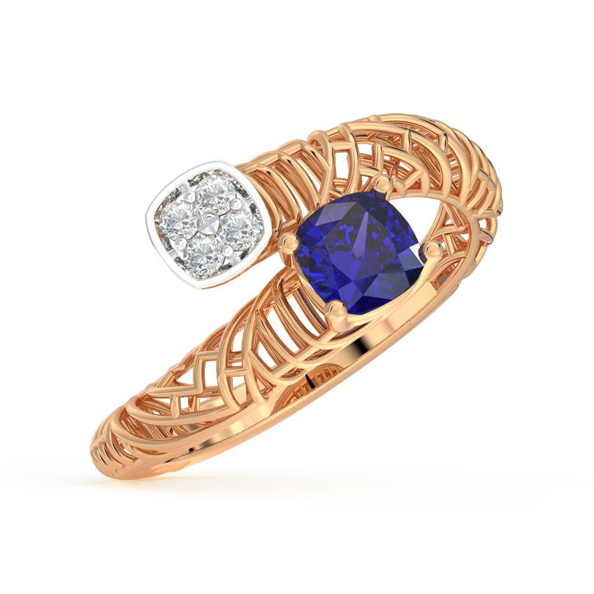 Twain Mesh Ring