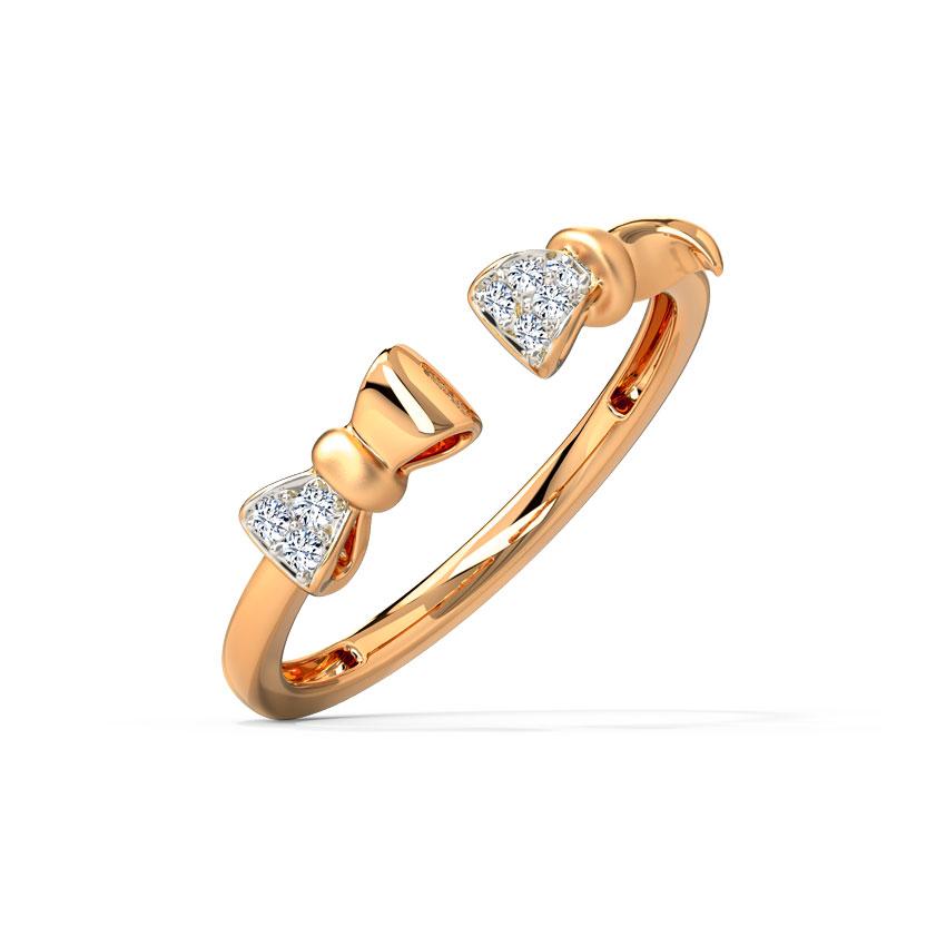 Dazzling Bow Ring