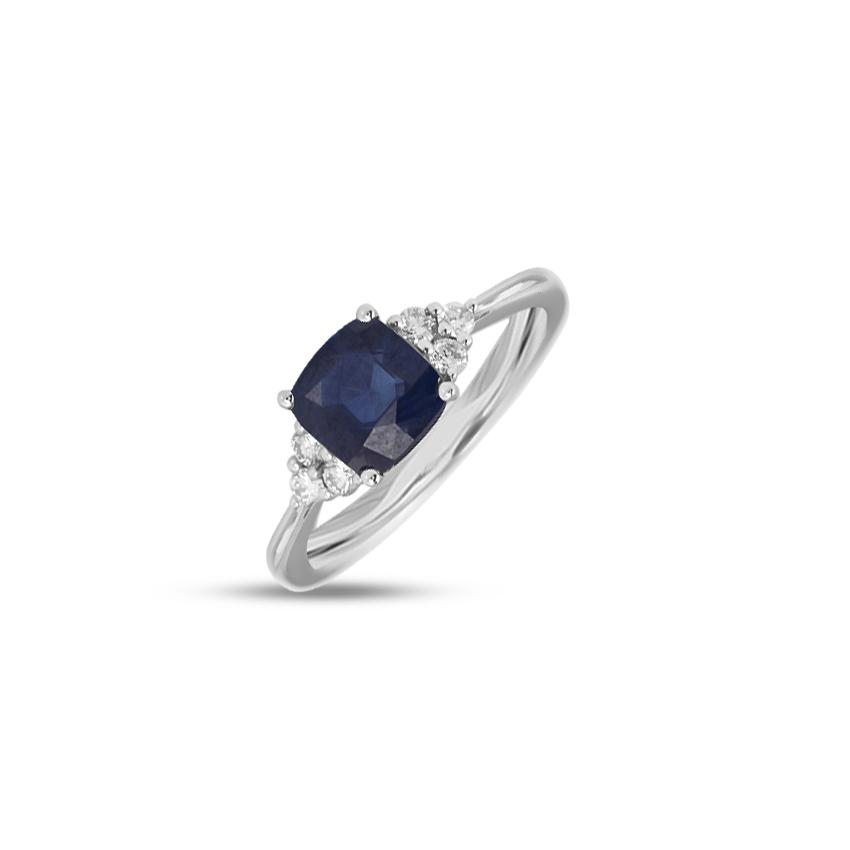 Diamond,Gemstone Rings 14 Karat Yellow Gold Felecia Gemstone Ring