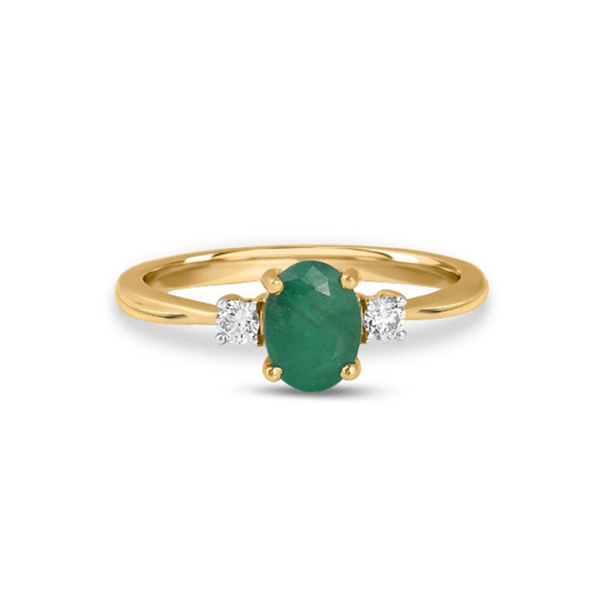 Diamond Rings 18 Karat Yellow Gold Alayna Diamond Ring