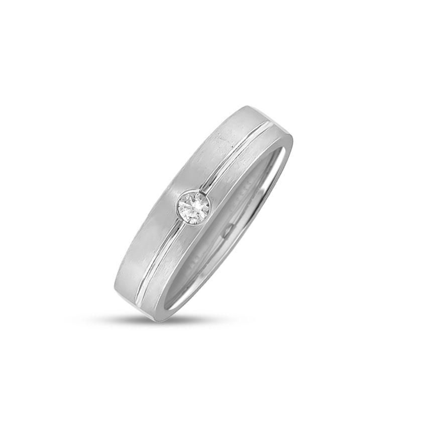 Diamond Rings 14 Karat White Gold Bella Diamond Band