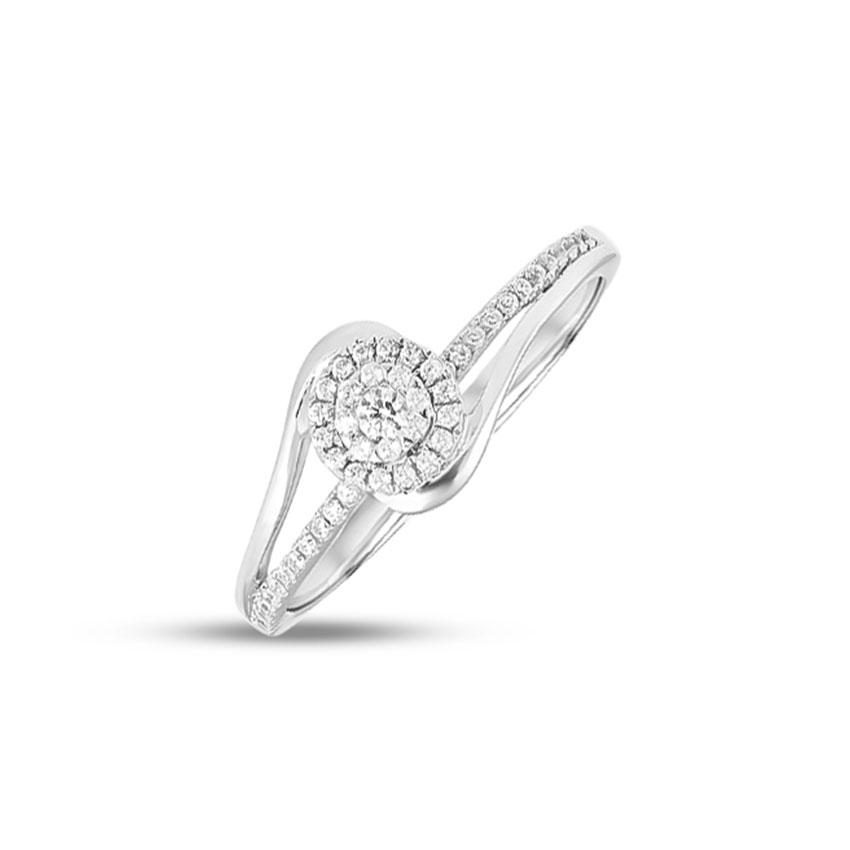 Diamond Rings 14 Karat White Gold Myra Diamond Ring