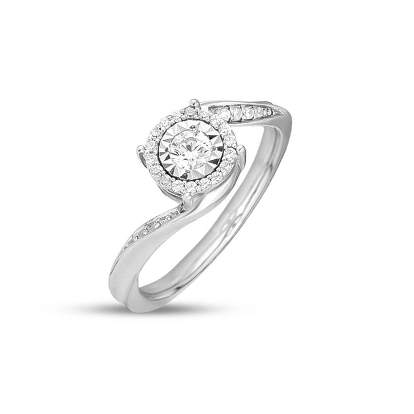 Diamond Rings 14 Karat White Gold Olivia Diamond Ring