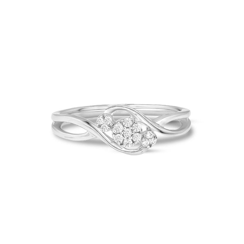 Diamond Rings 14 Karat White Gold Bliss Diamond Ring