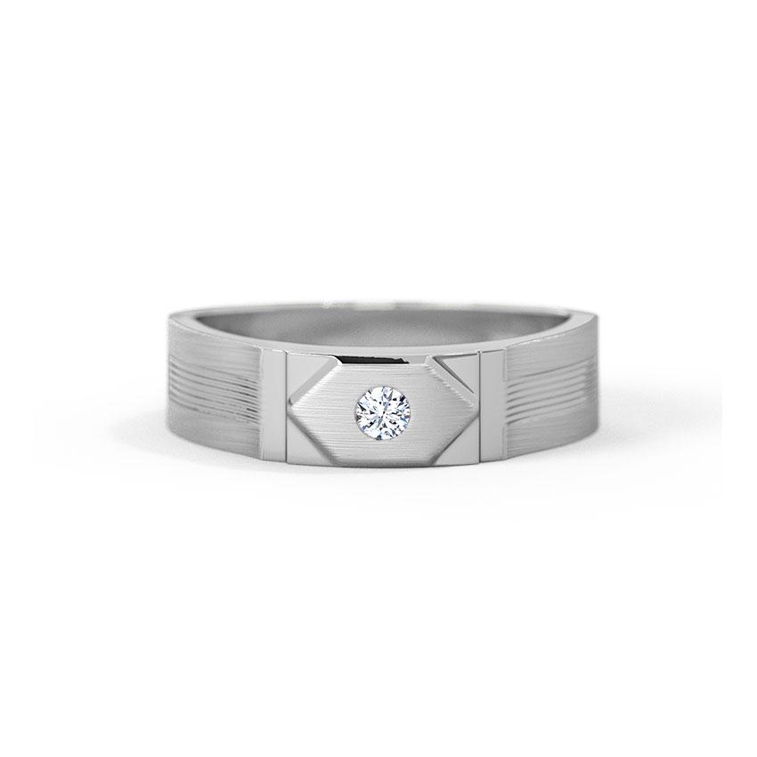 Platinum,Diamond Rings Platinum 950 Platinum Lennox Platinum Band for Men