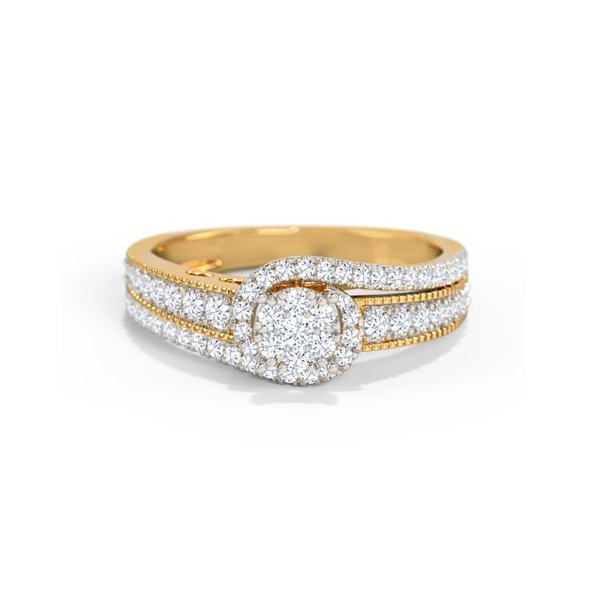Diamond Rings 18 Karat Yellow Gold Lanah Diamond Ring