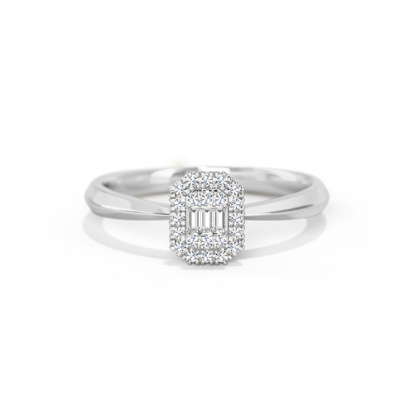 Diamond Rings 14 Karat White Gold Sophia Diamond Ring