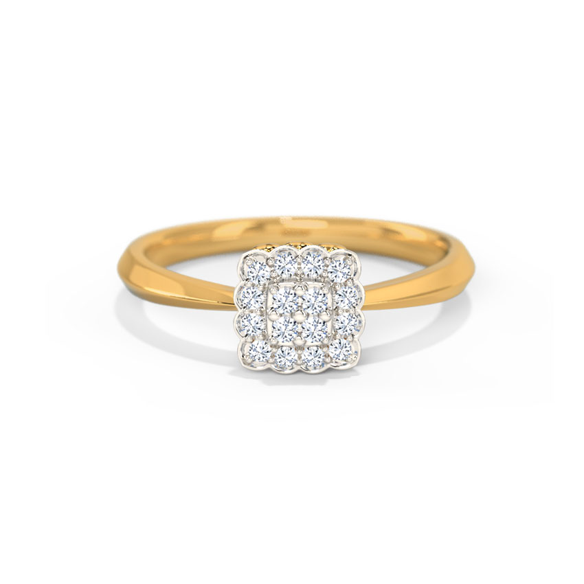 Diamond Rings 14 Karat Yellow Gold Shayna Diamond Ring