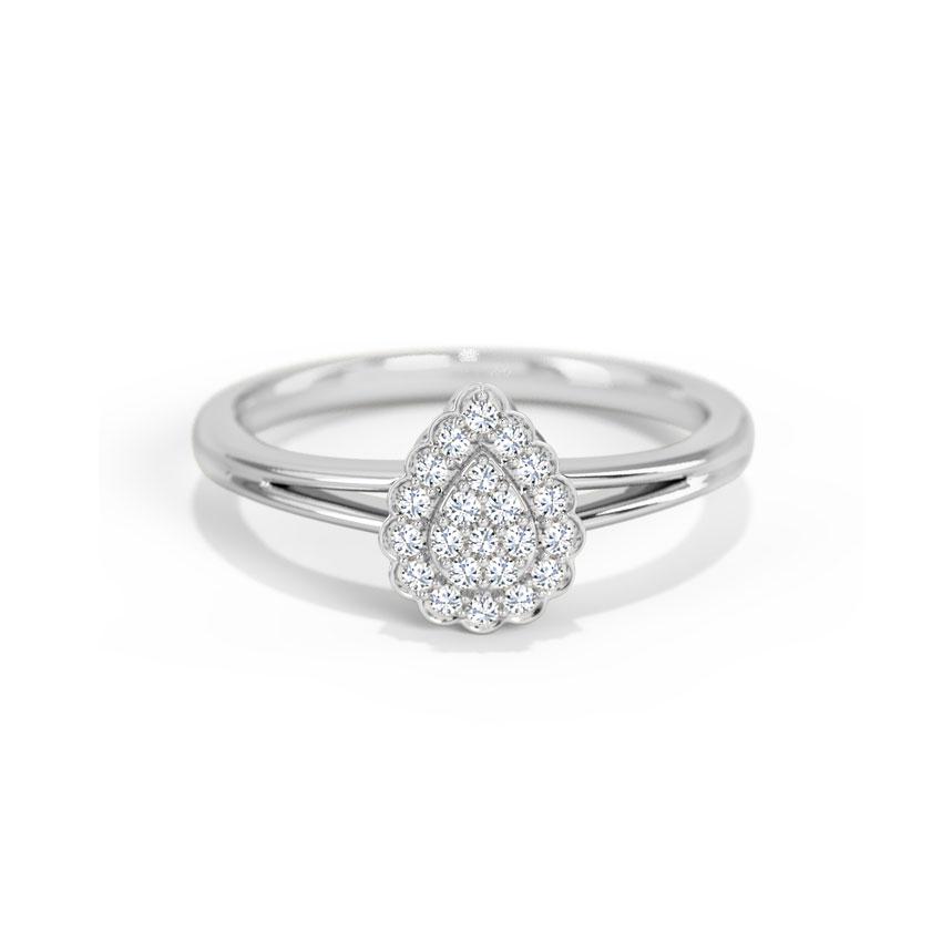 Diamond Rings 14 Karat White Gold Madison Diamond Ring