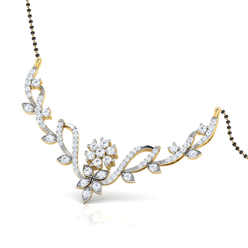 Adsila Floral Mangalsutra