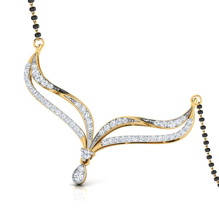 Magadhi Twist Diamond Mangalsutra