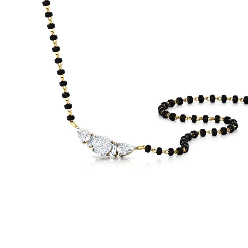 Shreya Miracle Plate Diamond Mangalsutra