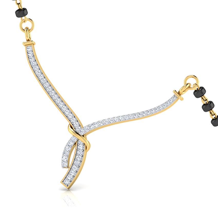 Shibani Diamond Mangalsutra