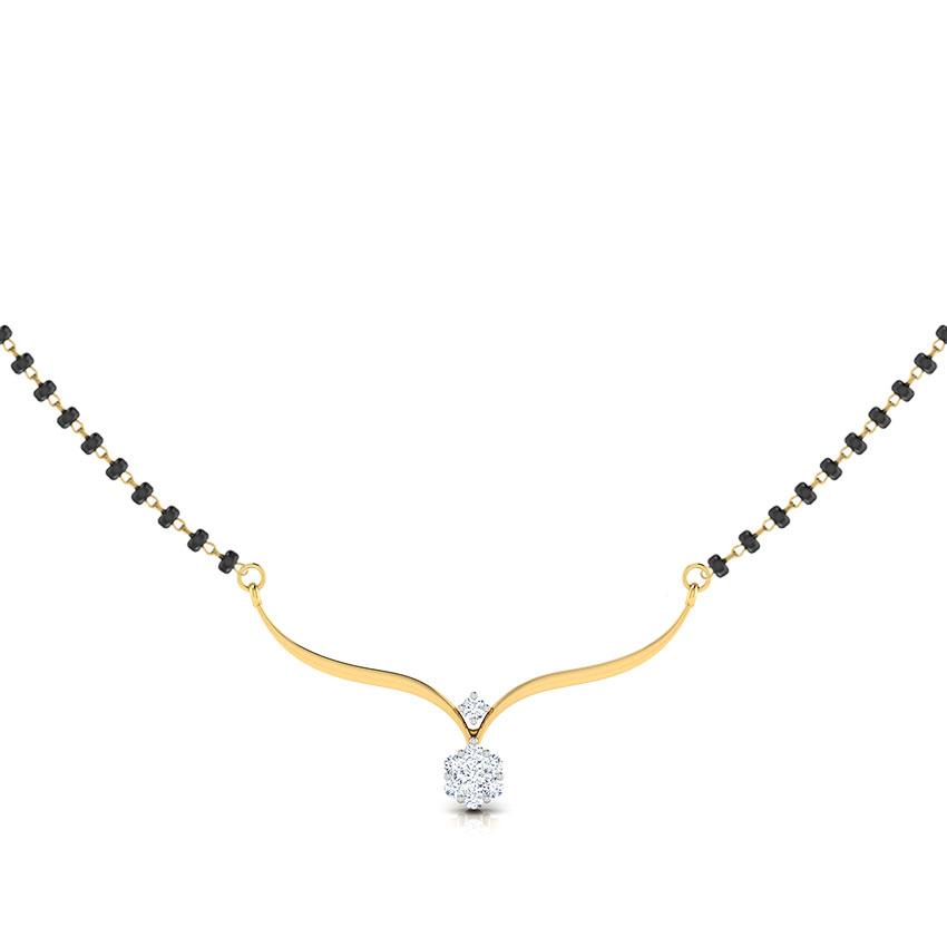 Lavanya Diamond Mangalsutra