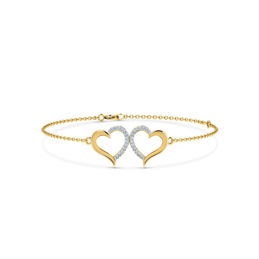 Kissing Heart Bracelet