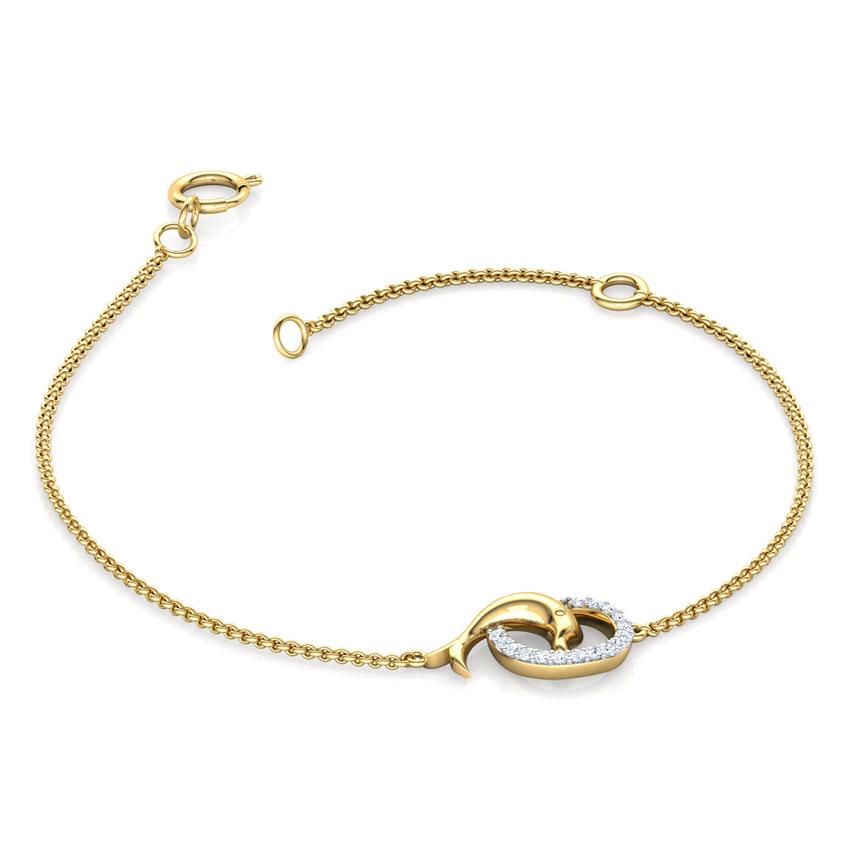 Charming Dolphin Kids Bracelet