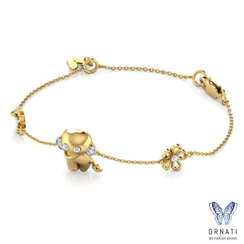 Jumbo Floral Bracelet
