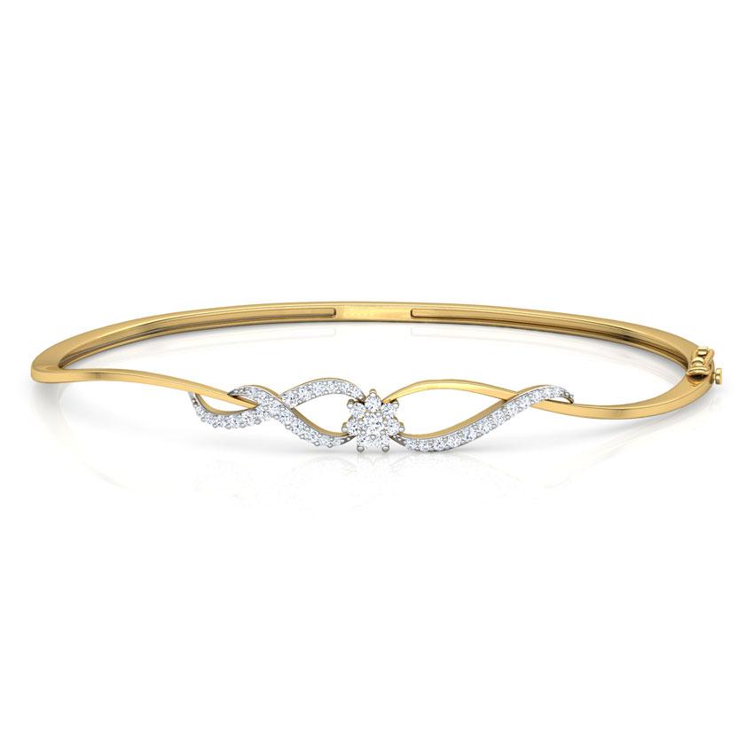 Petite Diamond Cluster Bracelet