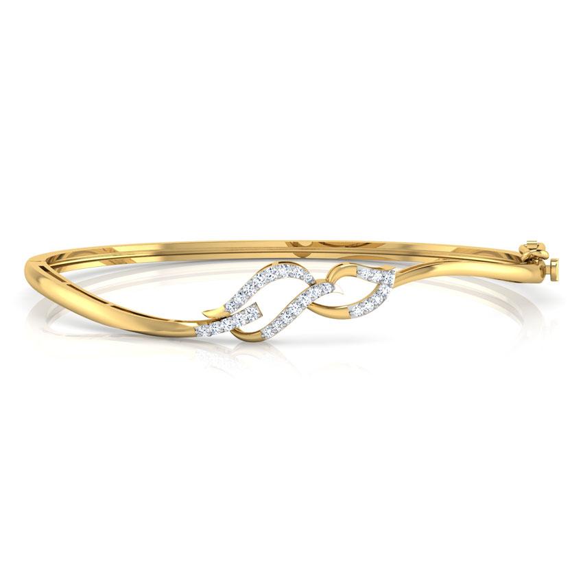 Curve Leaf Bracelet