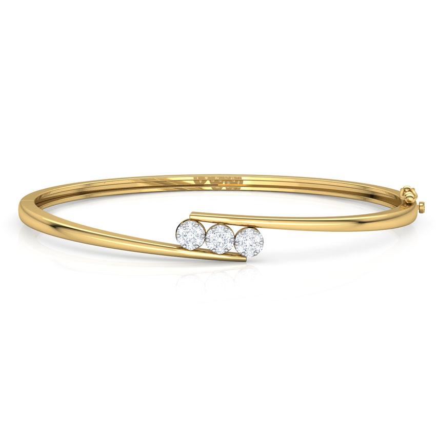 Trio Cluster Bracelet