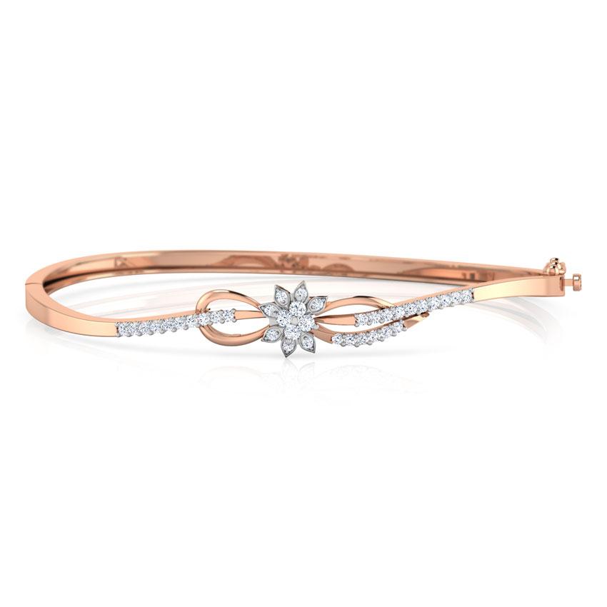 Floret Infinity Bracelet