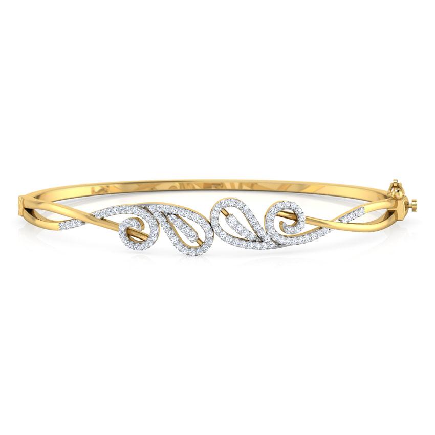 Paisley Scroll Bracelet