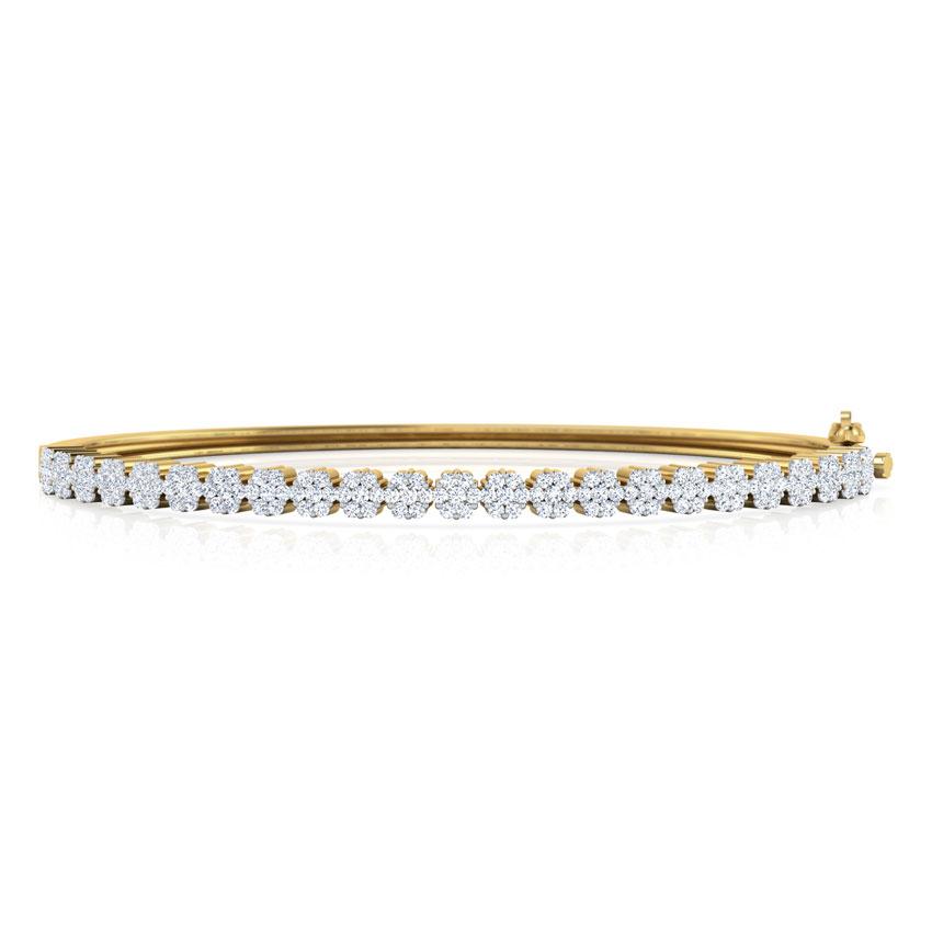 Elegant Cluster Bracelet
