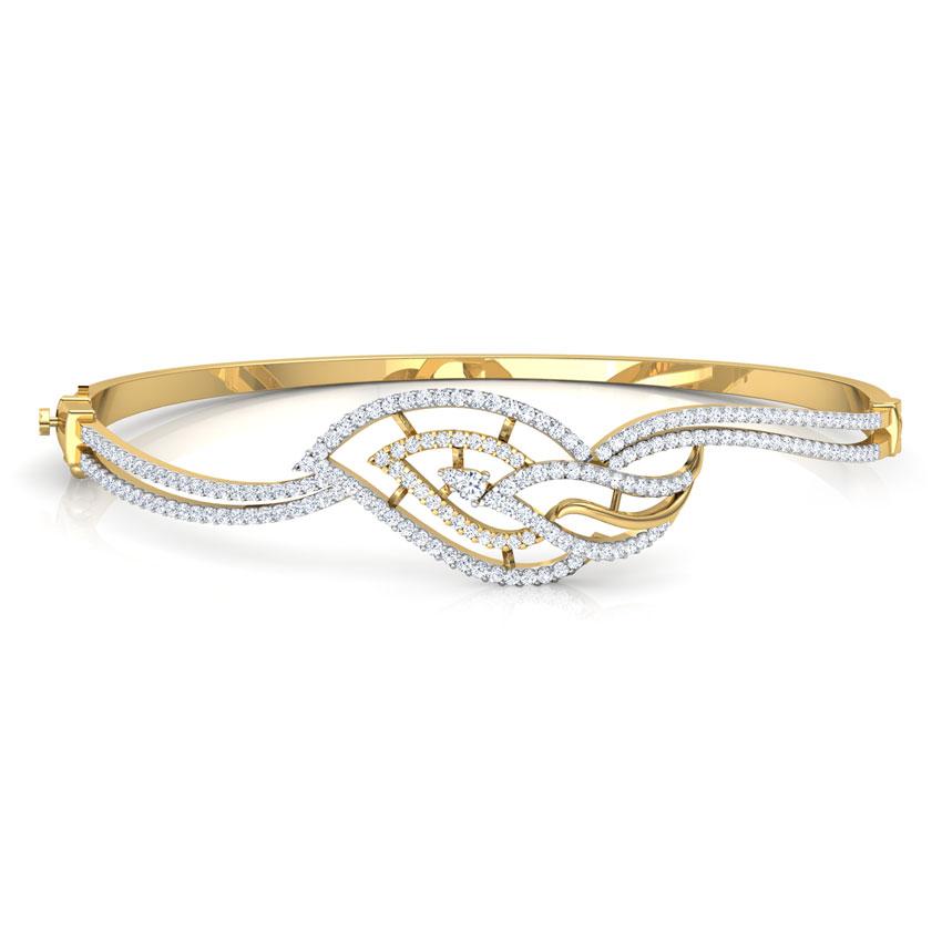 Twine Leaf Bracelet
