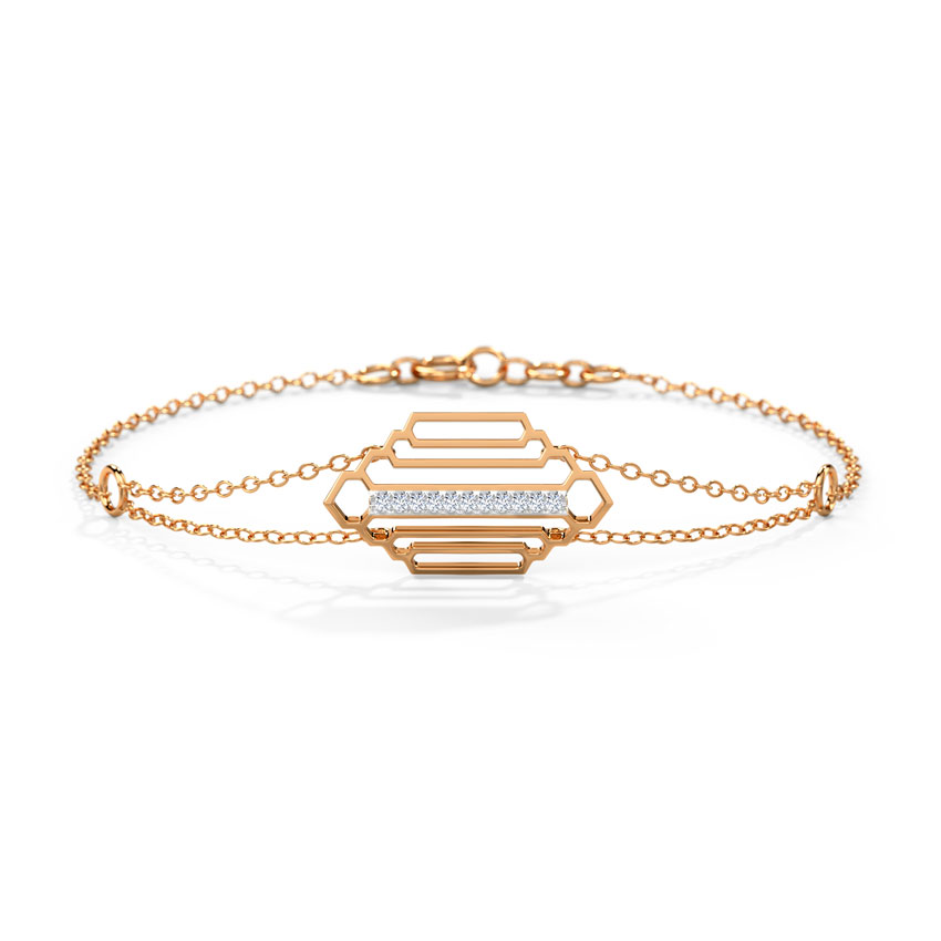 Regal Stepped Bracelet