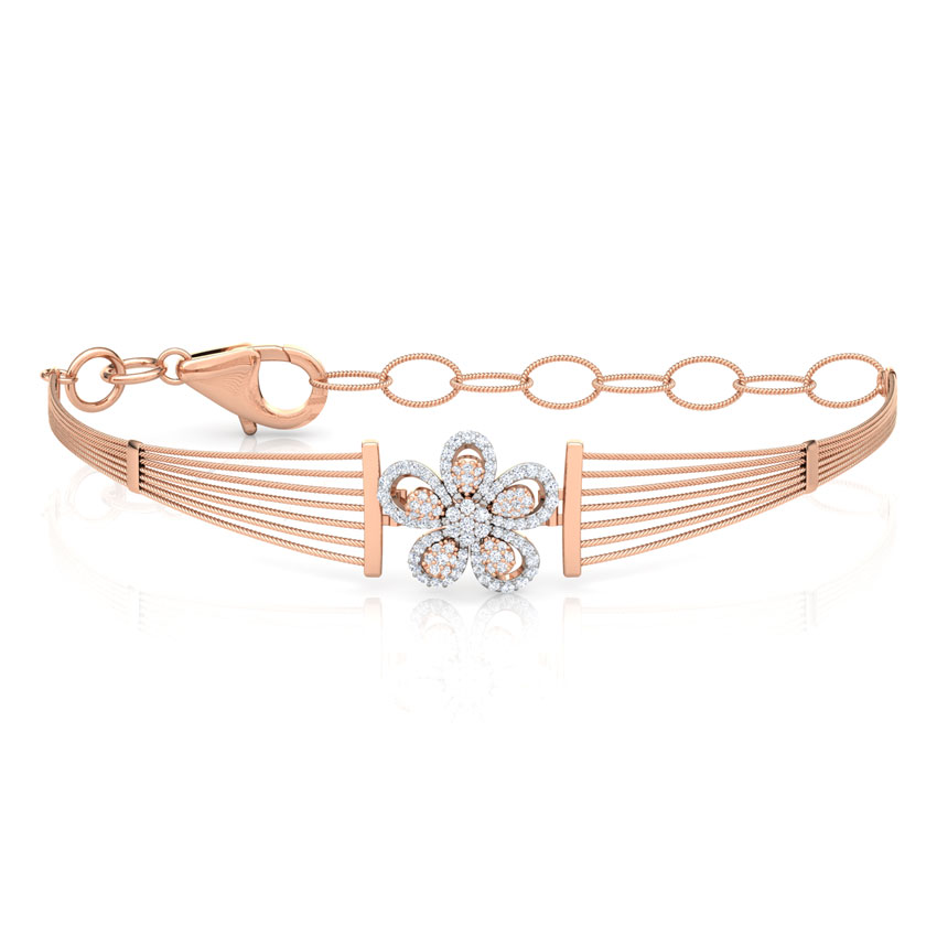 Floret Diamond Bracelet