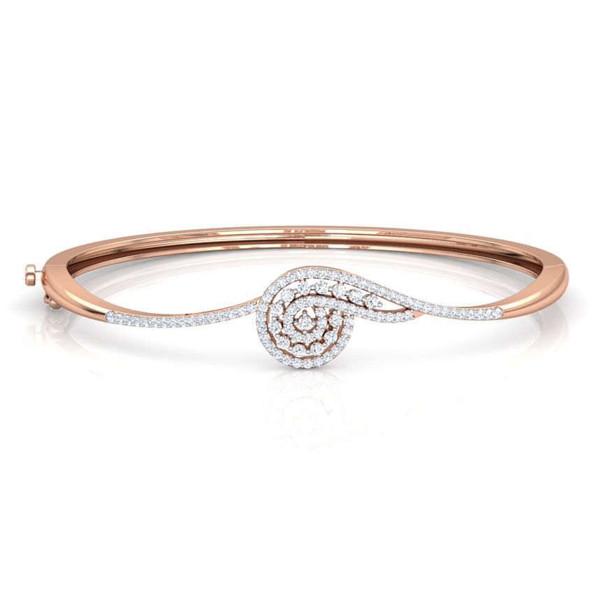 Scroll Diamond Bracelet
