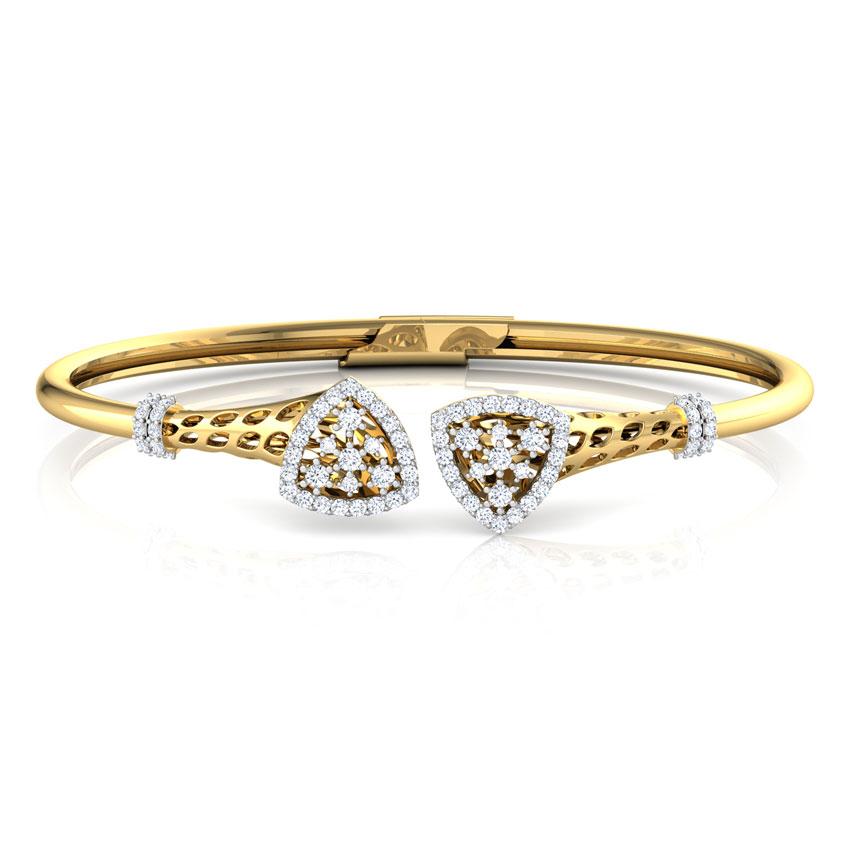 Trigon Diamond Bracelet