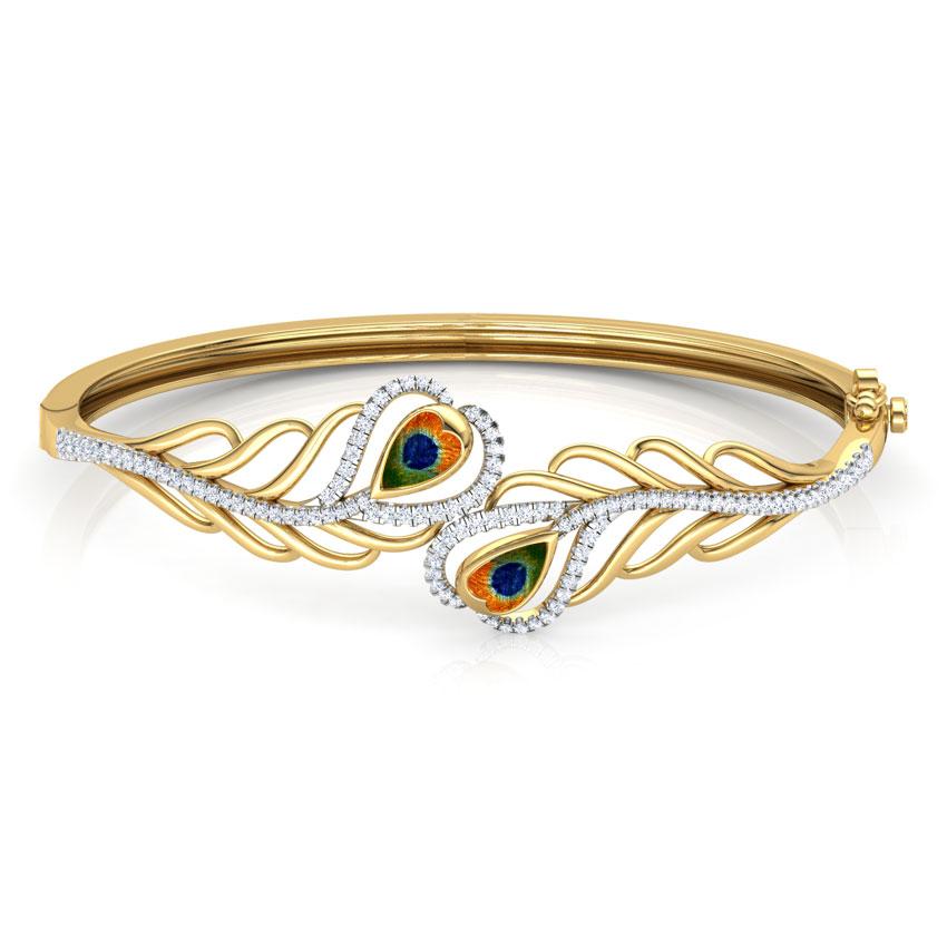 Finesse Peacock Bracelet