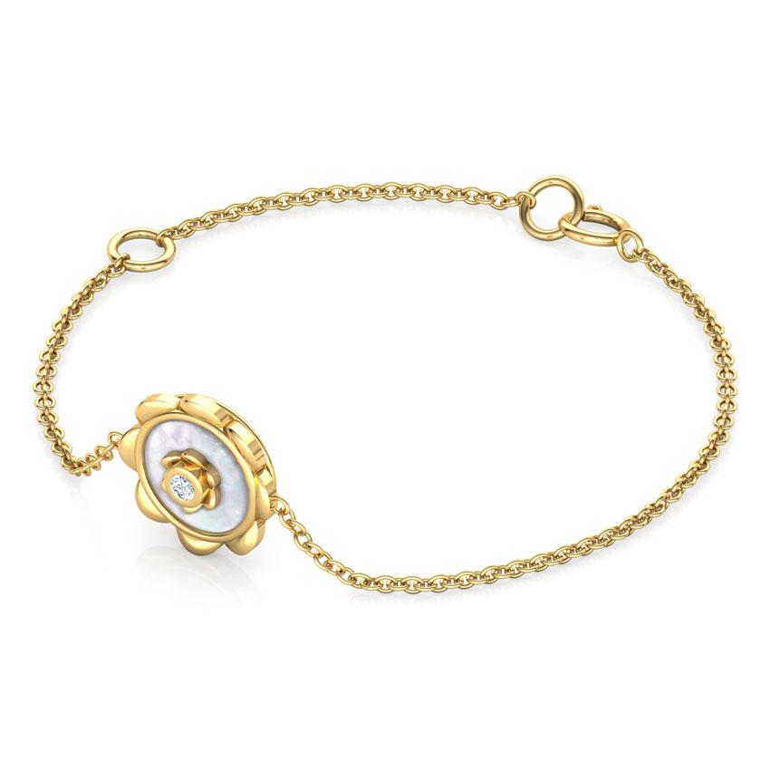 Blossom Mother of Pearl Kids Bracelet