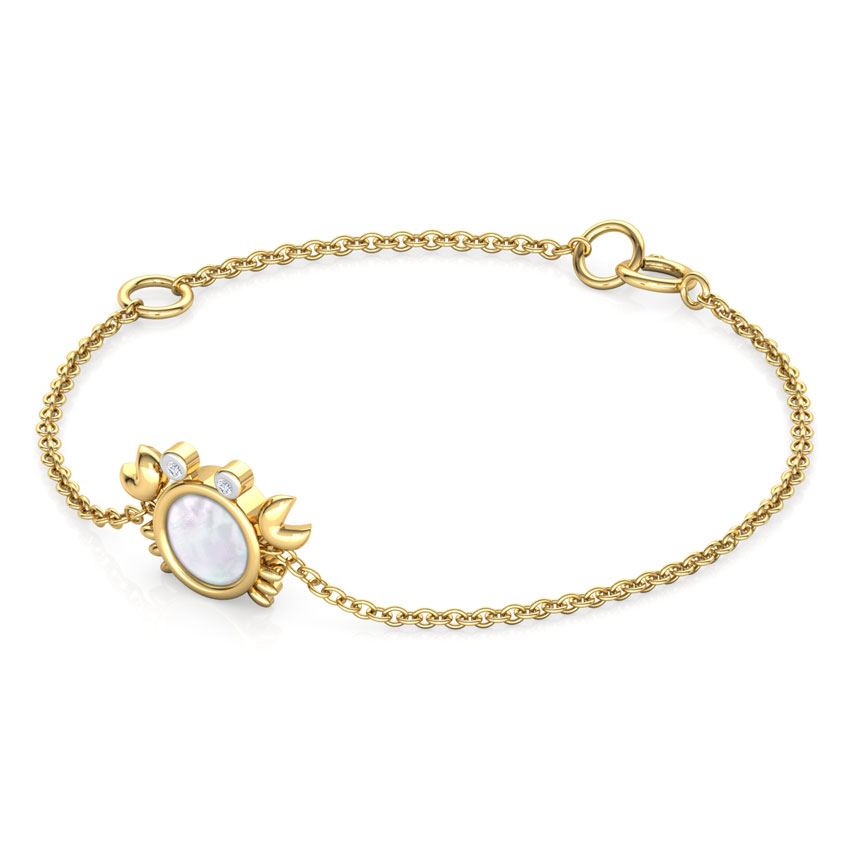 Crab Mother of Pearl Kids' Bracelet