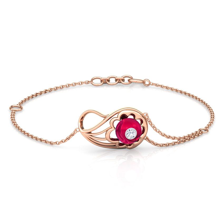 Exquisite Paisley Bracelet