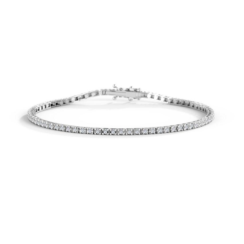 Shimmer Tennis Bracelet
