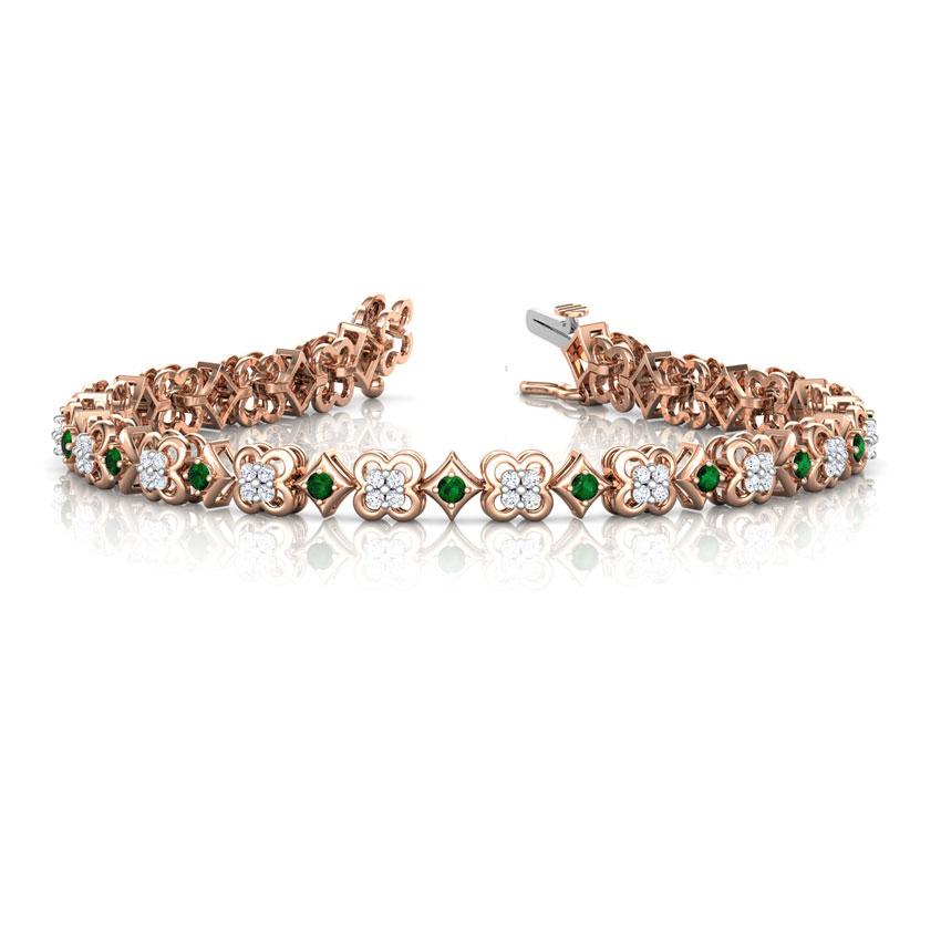 Radiant Floret Tennis Bracelet