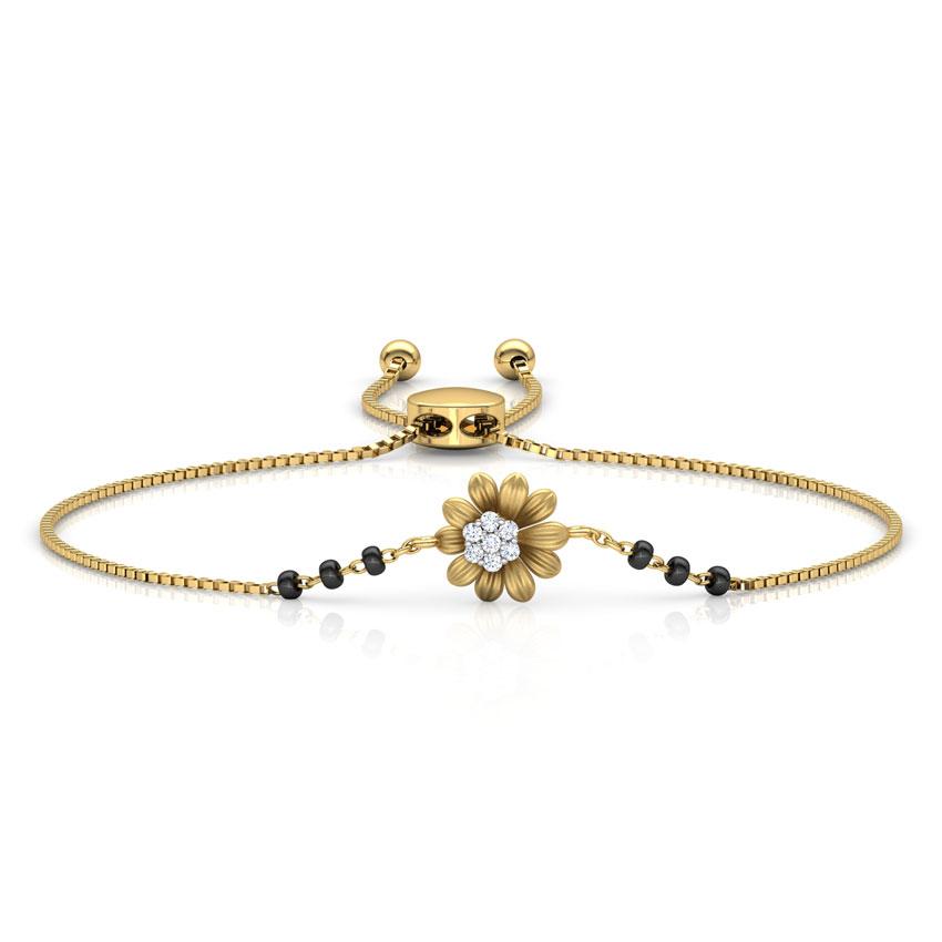 Leena Mangalsutra Bracelet
