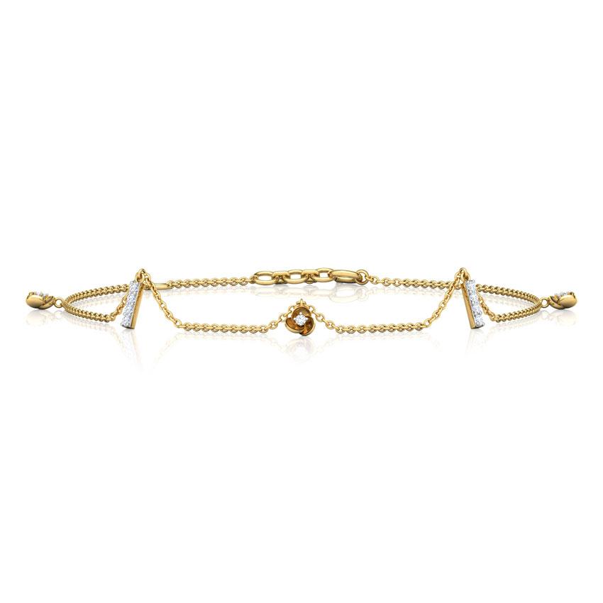 Trillium Charm Bracelet