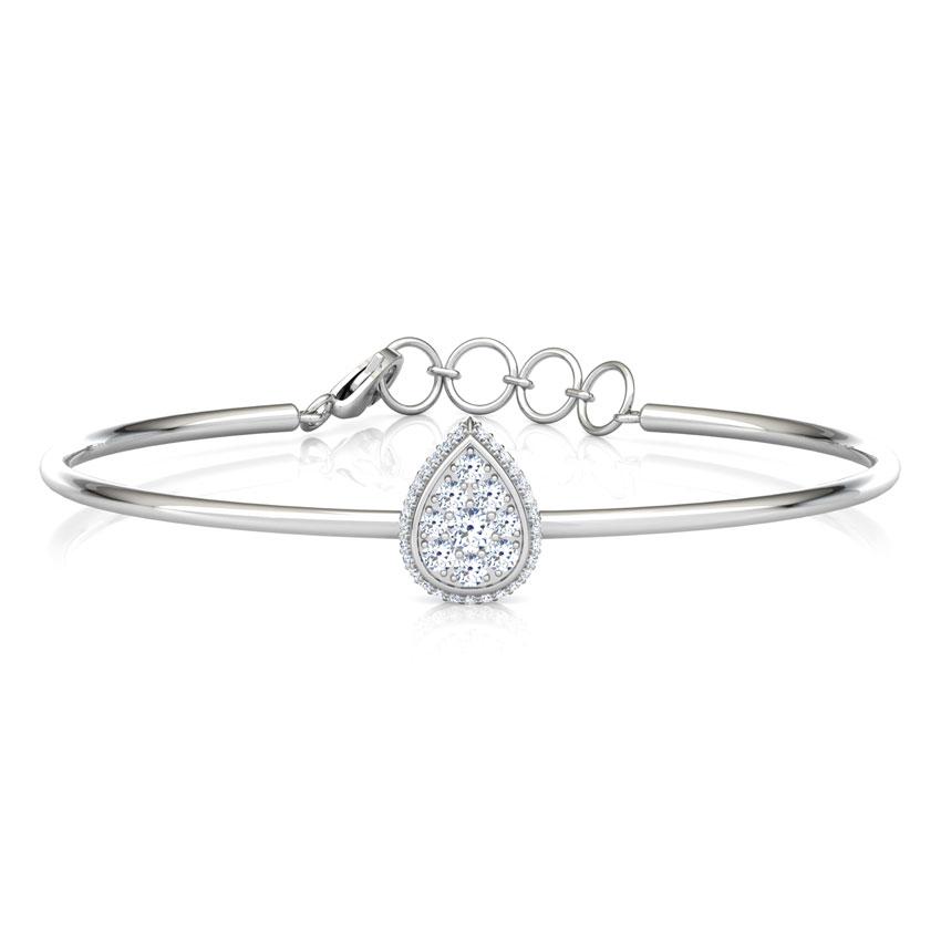 Halo Drop Bracelet