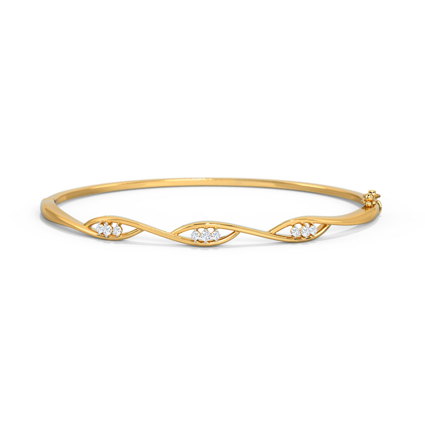 Helix Diamond Bracelet